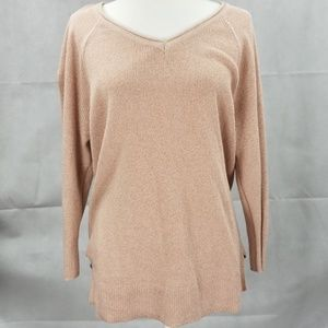 Liz Claiborne pink/mauve sweater